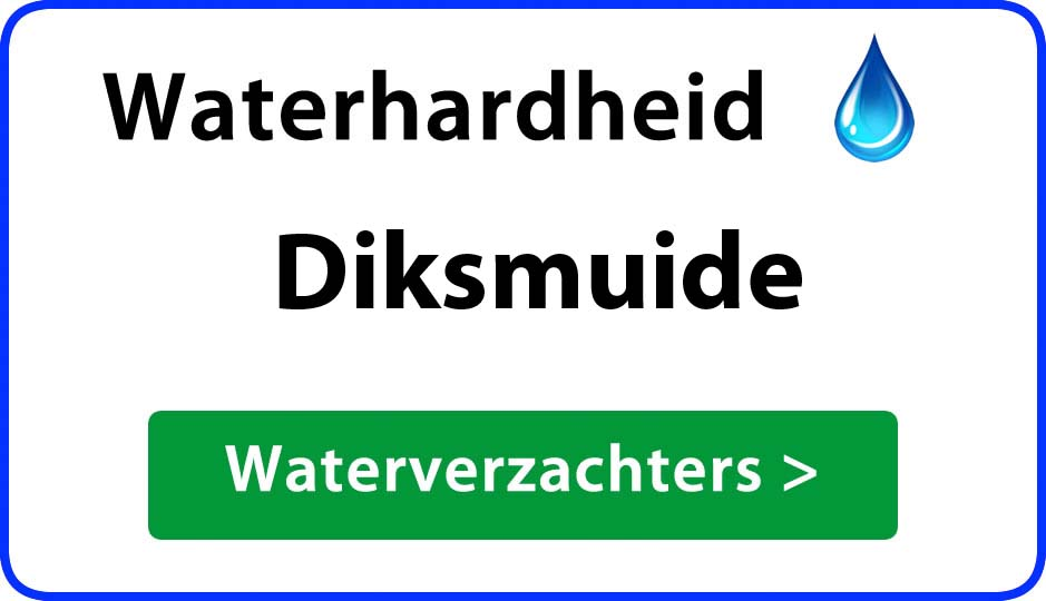 waterhardheid diksmuide waterverzachter