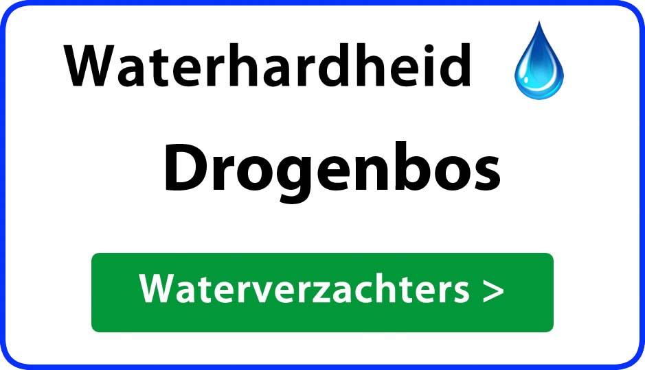 waterhardheid drogenbos waterverzachter