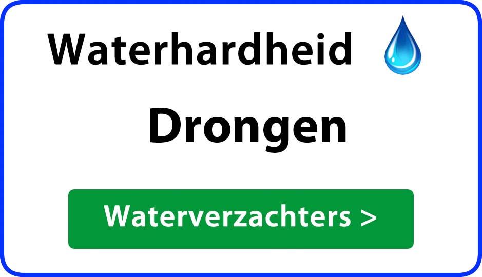 waterhardheid drongen waterverzachter