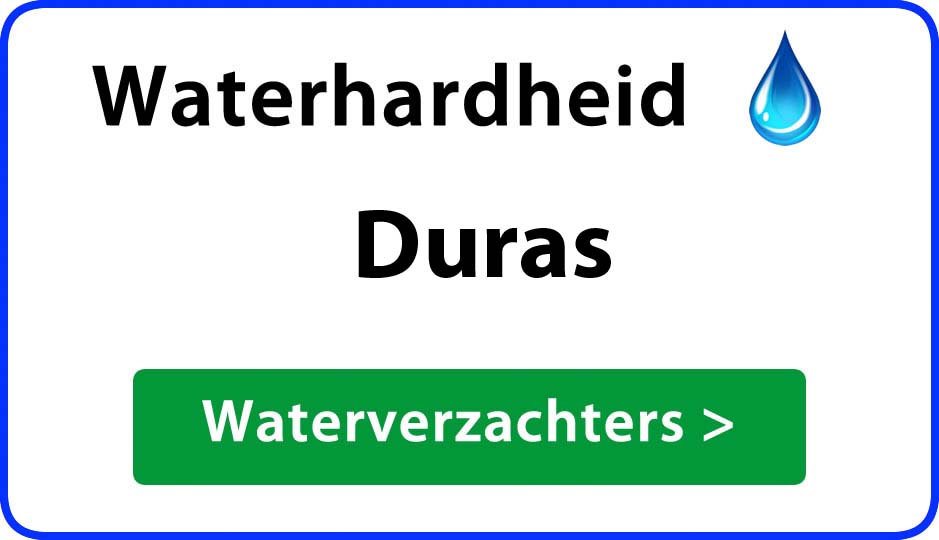 waterhardheid duras waterverzachter
