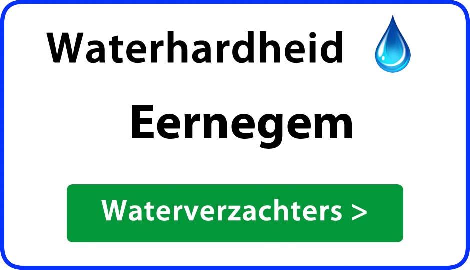 waterhardheid eernegem waterverzachter
