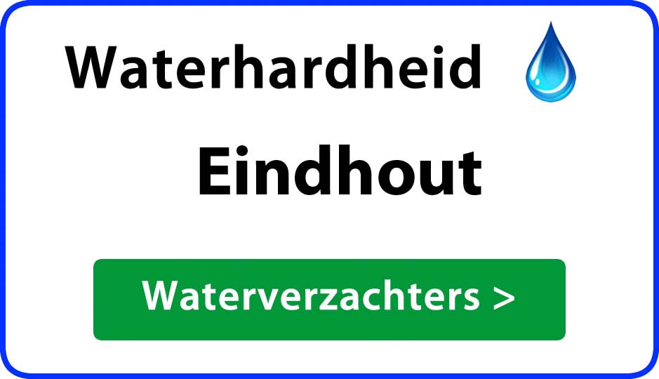 waterhardheid eindhout waterverzachter