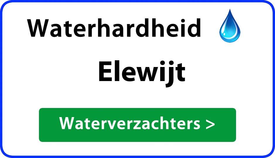 waterhardheid elewijt waterverzachter