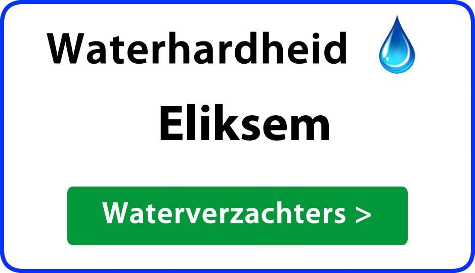 waterhardheid eliksem waterverzachter
