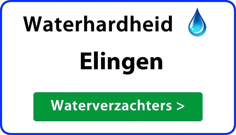 waterhardheid elingen waterverzachter