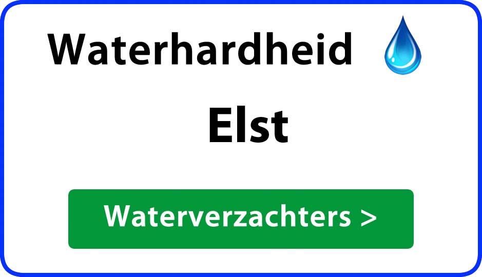 waterhardheid elst waterverzachter