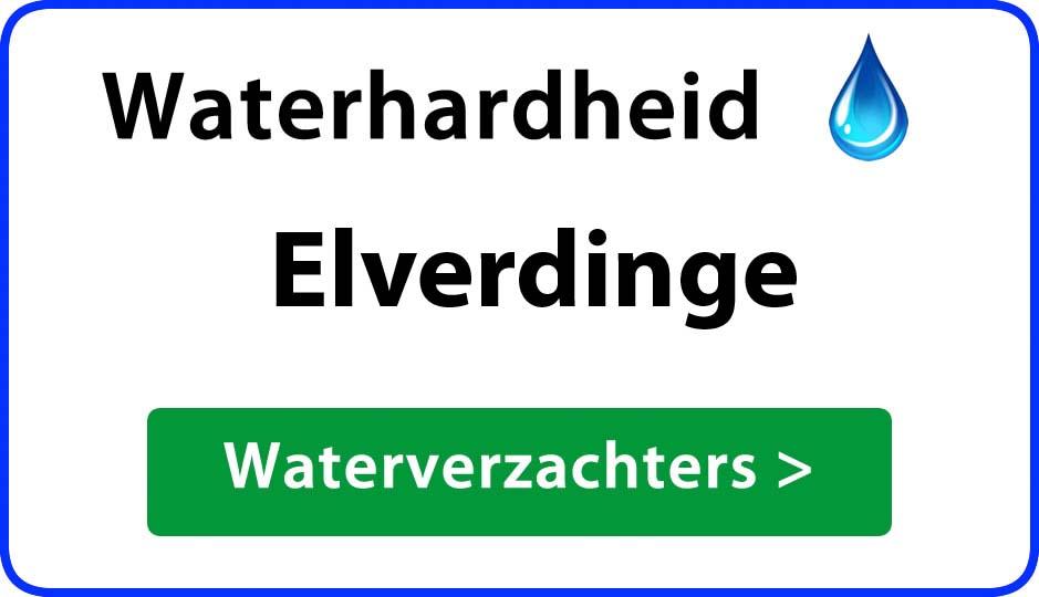 waterhardheid elverdinge waterverzachter