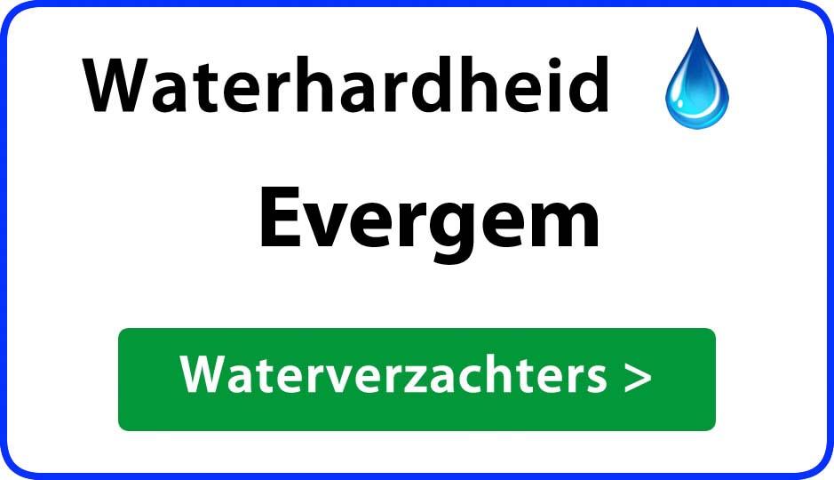 waterhardheid evergem waterverzachter