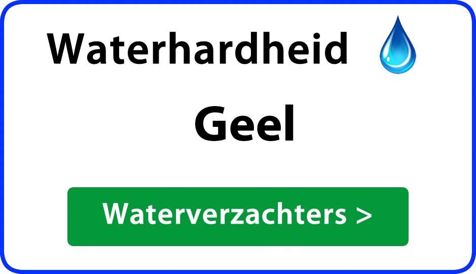 waterhardheid geel waterverzachter