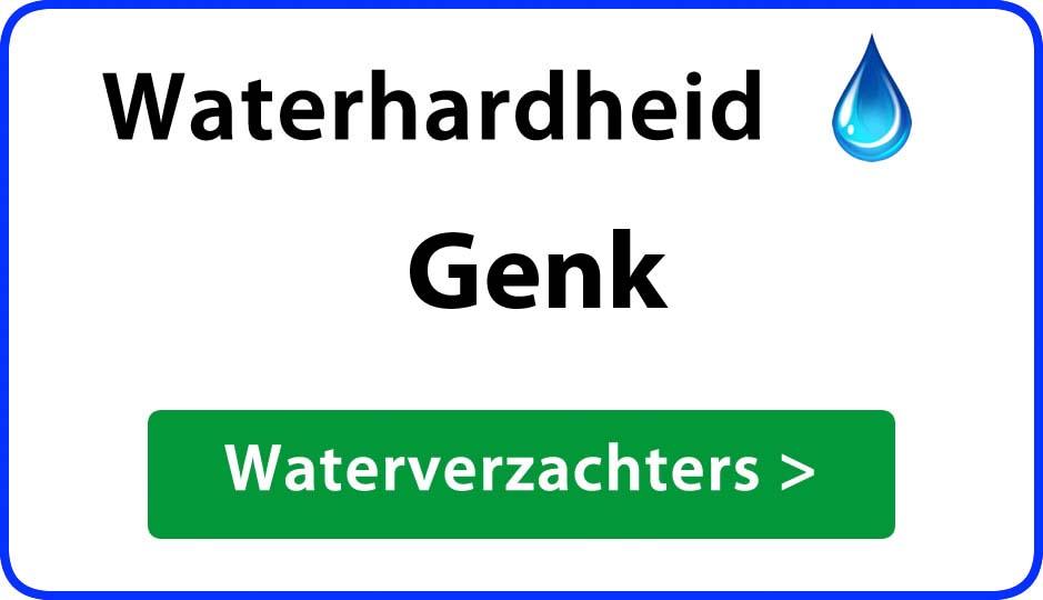 waterhardheid genk waterverzachter