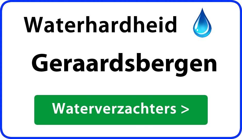 waterhardheid geraardsbergen waterverzachter