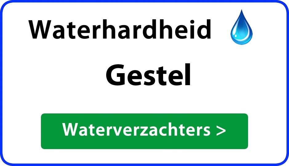 waterhardheid gestel waterverzachter