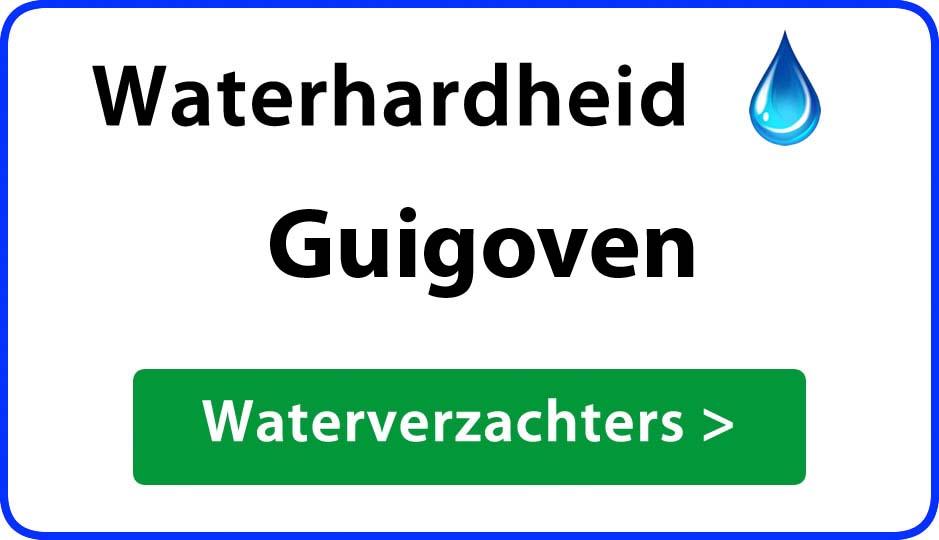 waterhardheid guigoven waterverzachter