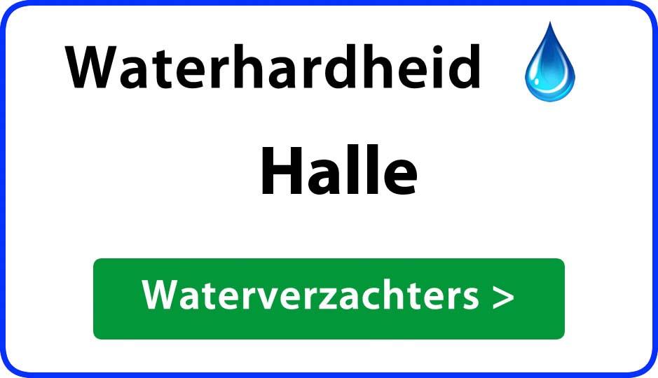 waterhardheid halle waterverzachter