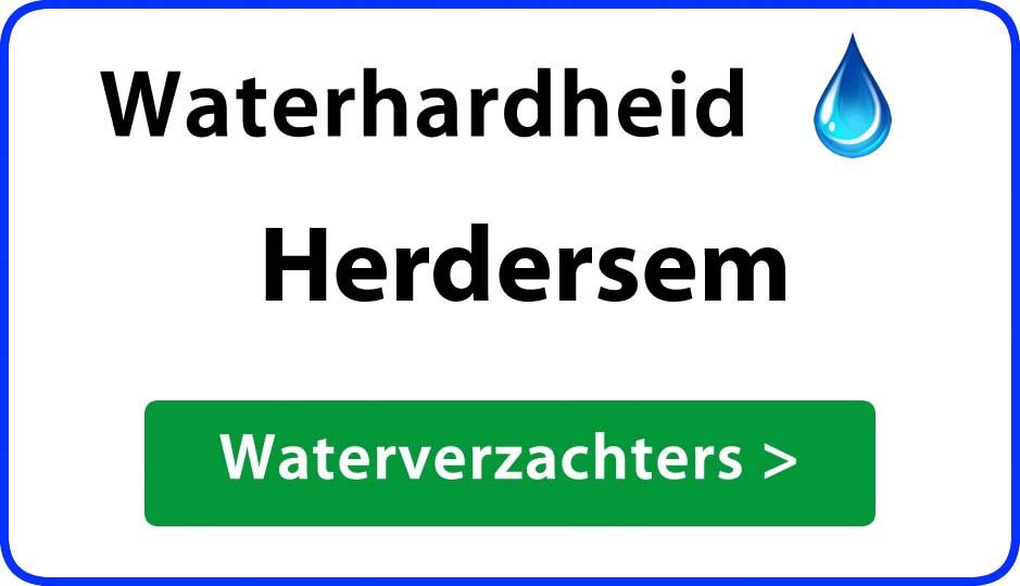 waterhardheid herdersem waterverzachter