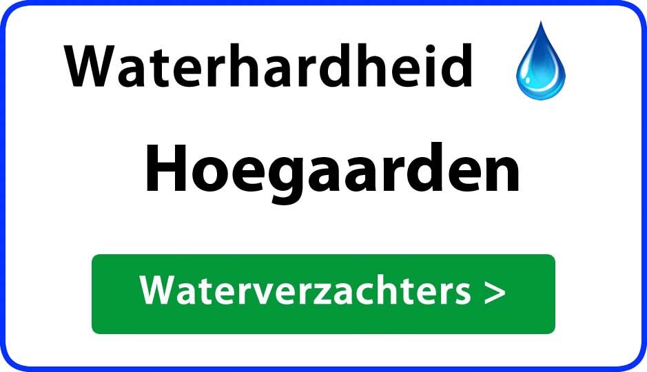 waterhardheid hoegaarden waterverzachter