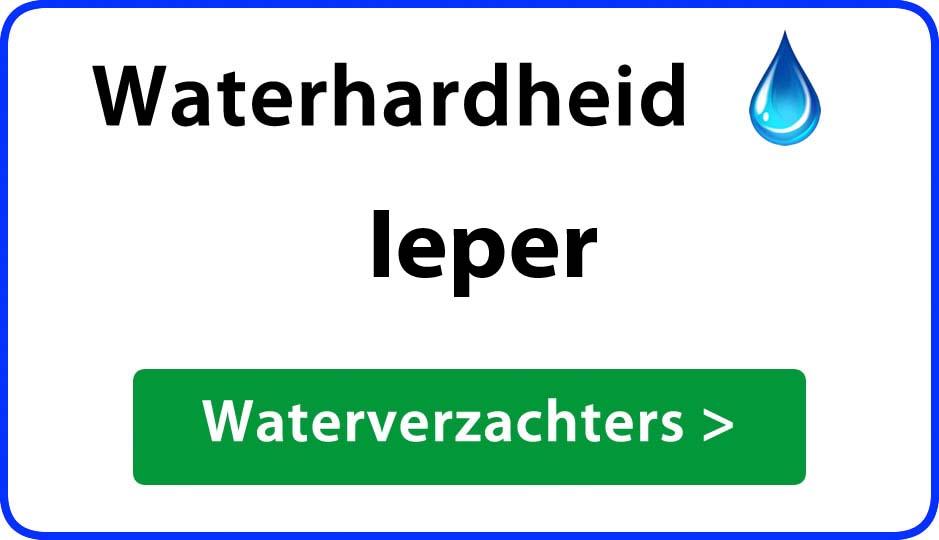waterhardheid ieper waterverzachter