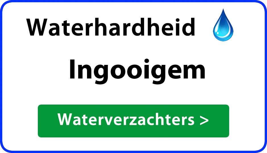 waterhardheid ingooigem waterverzachter