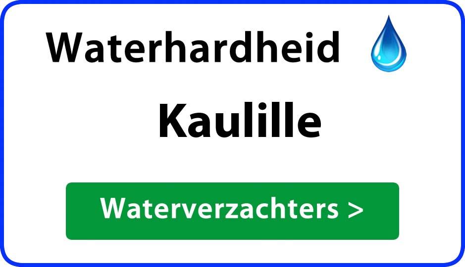waterhardheid kaulille waterverzachter