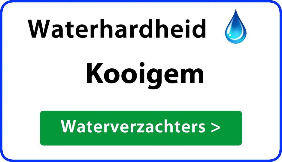 waterhardheid kooigem waterverzachter