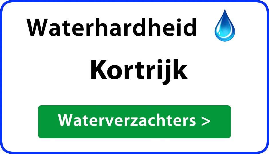 waterhardheid kortrijk waterverzachter