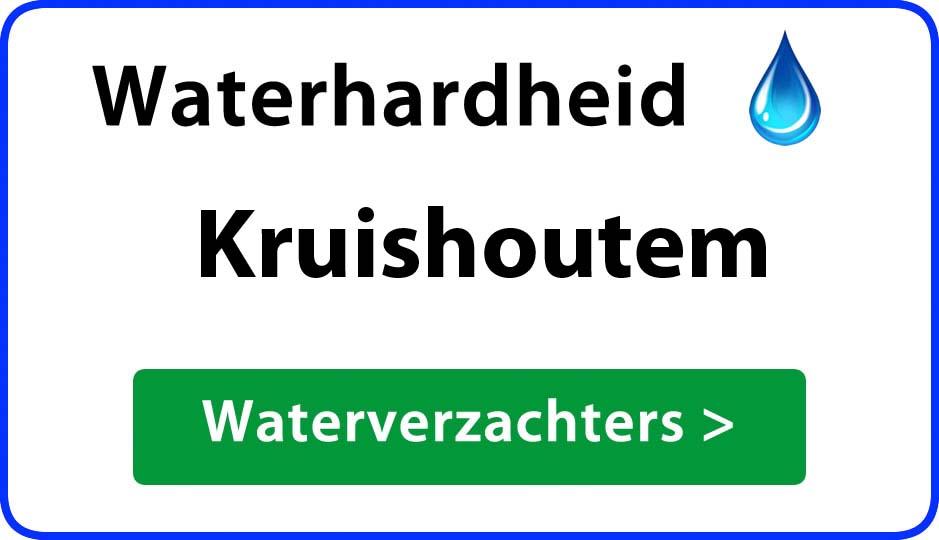 waterhardheid kruishoutem waterverzachter