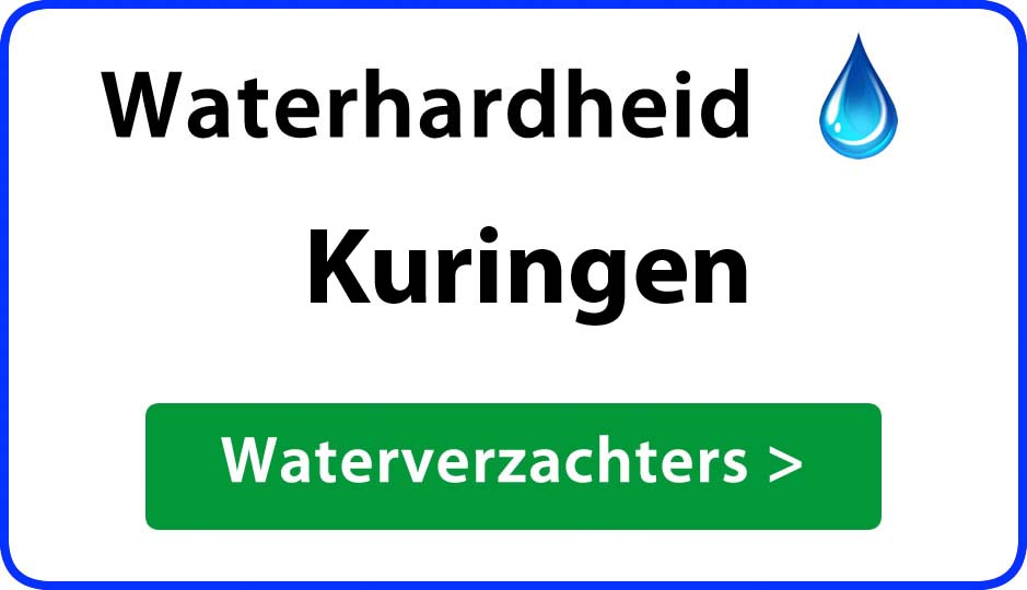 waterhardheid kuringen waterverzachter