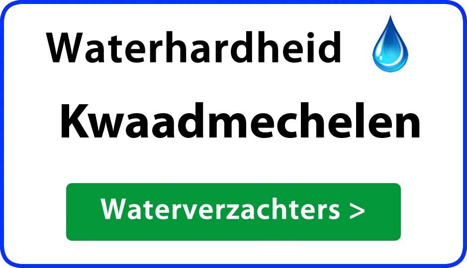 waterhardheid kwaadmechelen waterverzachter
