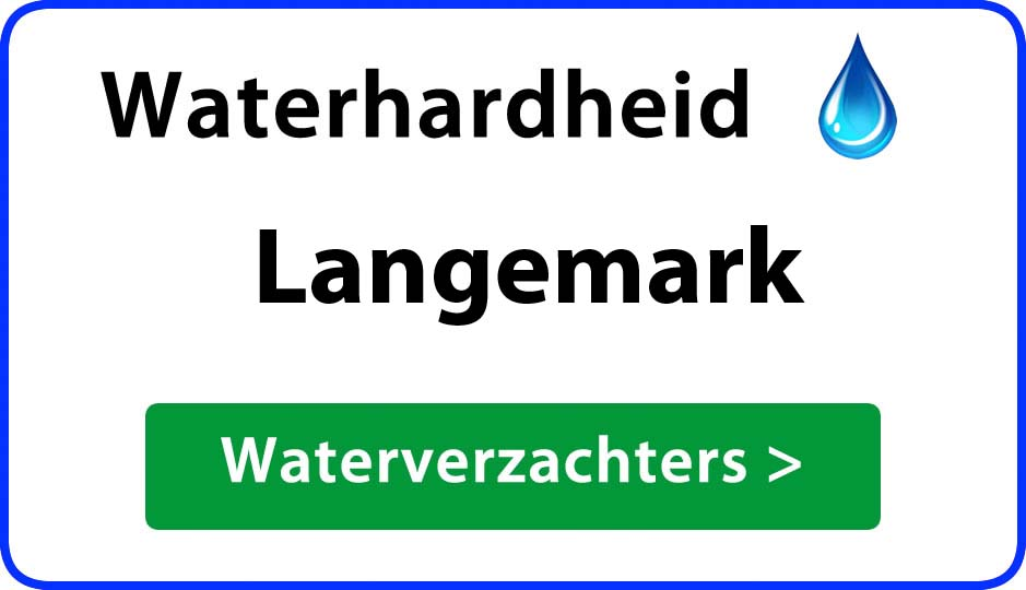 waterhardheid langemark waterverzachter