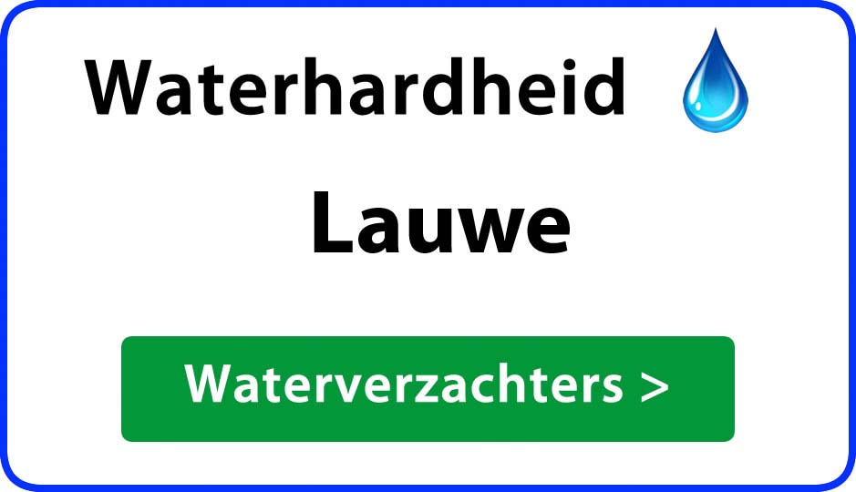 waterhardheid lauwe waterverzachter