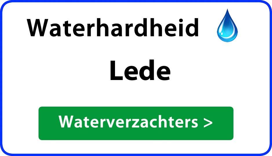 waterhardheid lede waterverzachter