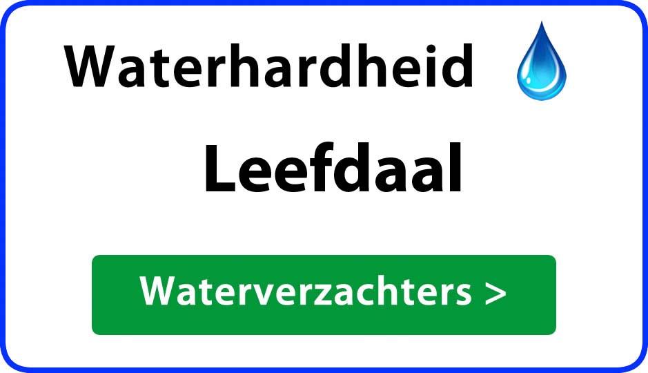 waterhardheid leefdaal waterverzachter