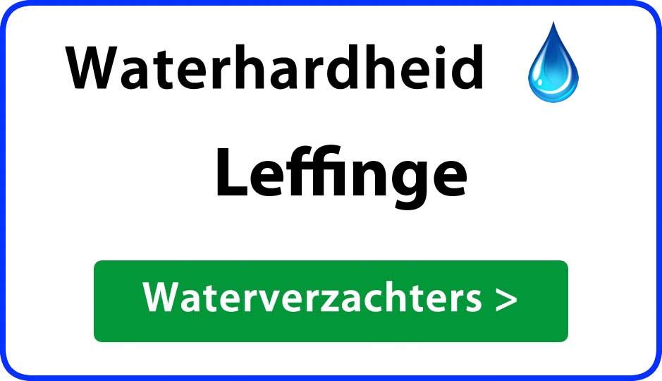 waterhardheid leffinge waterverzachter