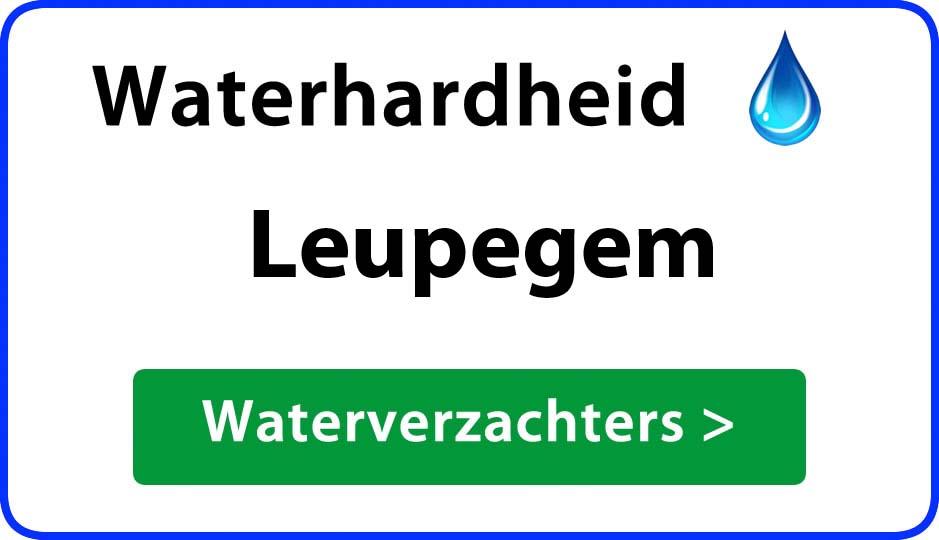 waterhardheid leupegem waterverzachter