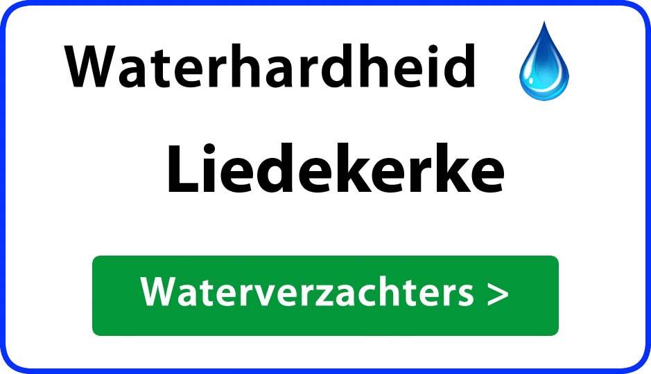 waterhardheid liedekerke waterverzachter