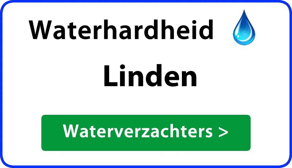 waterhardheid linden waterverzachter