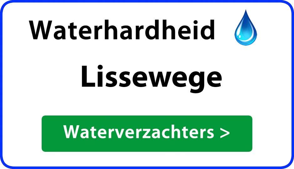 waterhardheid lissewege waterverzachter