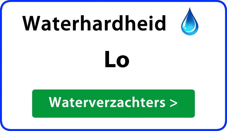 waterhardheid lo waterverzachter