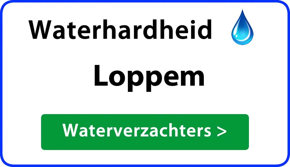 waterhardheid loppem waterverzachter