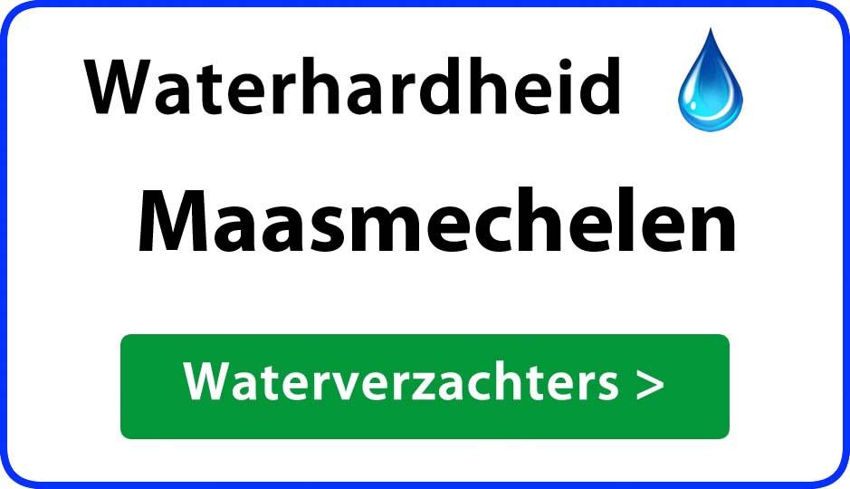 waterhardheid maasmechelen waterverzachter