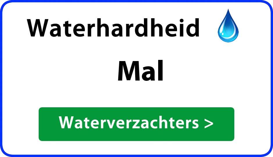 waterhardheid mal waterverzachter