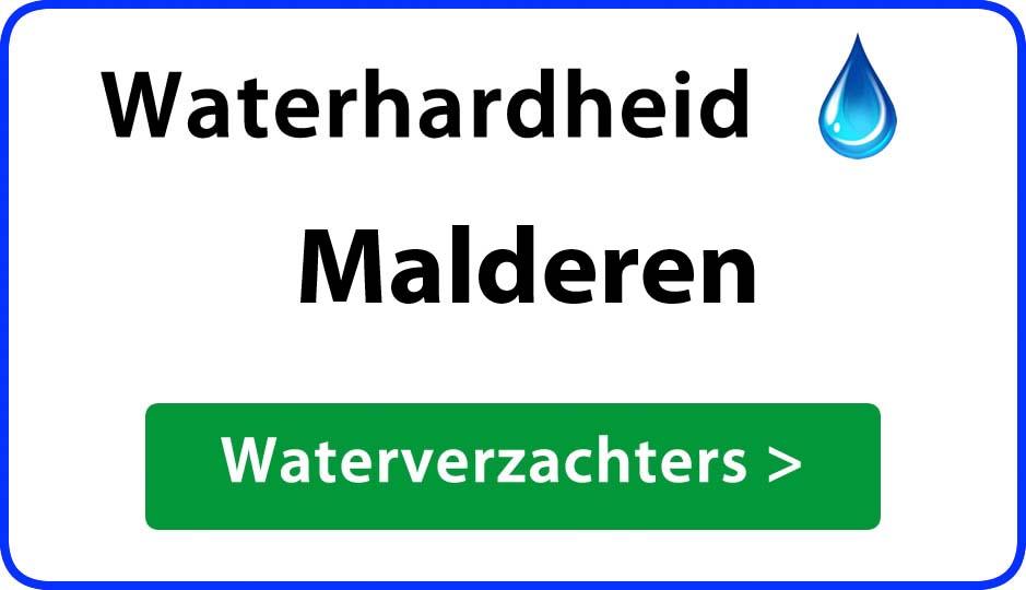 waterhardheid malderen waterverzachter