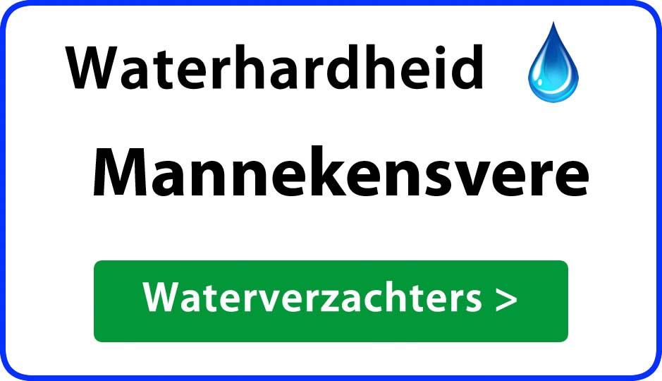waterhardheid mannekensvere waterverzachter