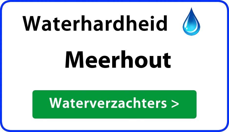 waterhardheid meerhout waterverzachter
