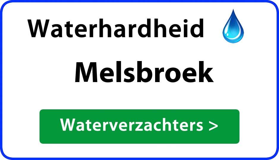 waterhardheid melsbroek waterverzachter