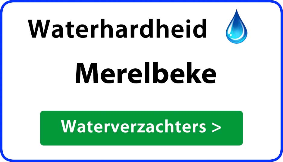 waterhardheid merelbeke waterverzachter