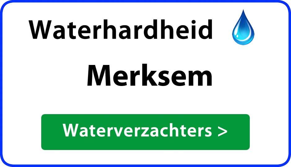 waterhardheid merksem waterverzachter