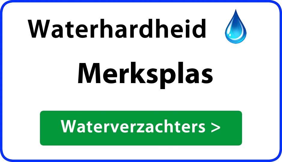 waterhardheid merksplas waterverzachter