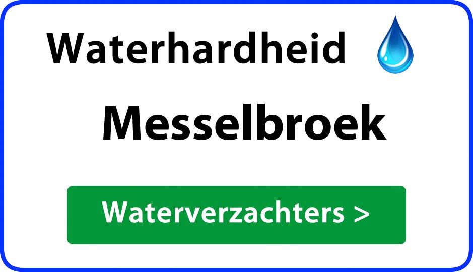 waterhardheid messelbroek waterverzachter