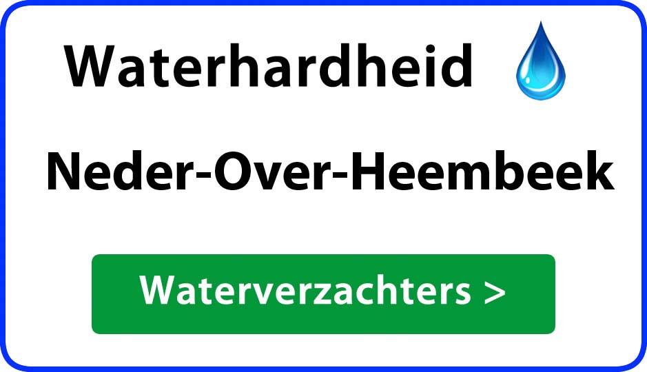 waterhardheid neder-over-heembeek waterverzachter